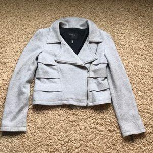 Short Gray Blazer